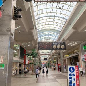 【7日目】松山市内で停滞。大街道と銀天街をぶらり歩き(2020.8.5)