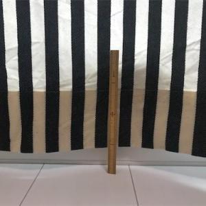 天然素材のカーテンを洗濯したらどのくらい縮むのか