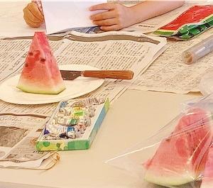 今年の夏休みの宿題は?絵画編