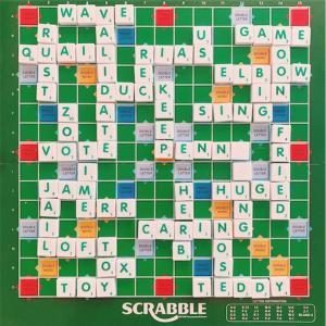 英単語が覚えられるボードゲーム Scrabble