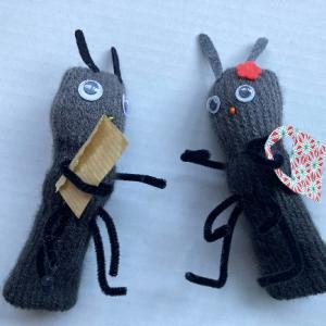 簡単!可愛い指人形② おつかいアリさんを作ろう