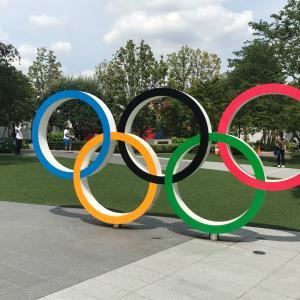 五輪開幕目前「ブルーインパルス」が国立競技場の空で予行演習