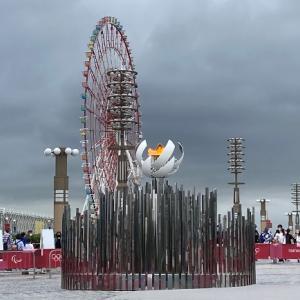 TOKYO2020 オリンピック&パラリンピックが閉会 火の消える前に聖火台を見に行く