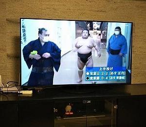 新しいTV。
