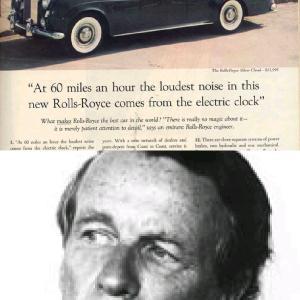 オリジナル超訳◆【現代広告の父】オグルヴィ代表作:ロールスロイス新聞広告