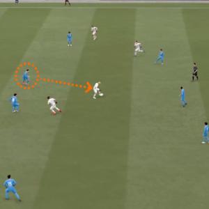 FIFA 21:図解 必ず吊り出されるCBとその対策