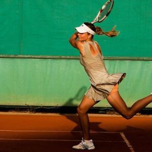 アメリカで流行りのテニスウェアを購入する