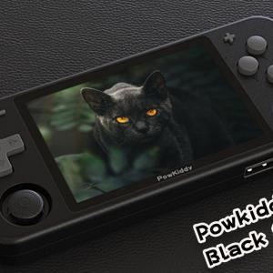 【速報】Powkiddy RGB10 に Black & Gray が登場! WiFi & Bluetoothに対応?