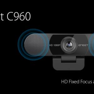 eMeet C960 高画質・高画角で撮影可能なウェブカメラはこれだ!!NitRo Blogクーポン付き