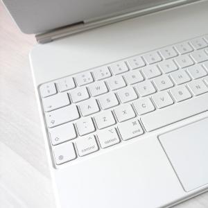 iPad Pro 2021用 Apple Magic Keyboard の新色『白』が届いたので軽くレビューしておくぞ