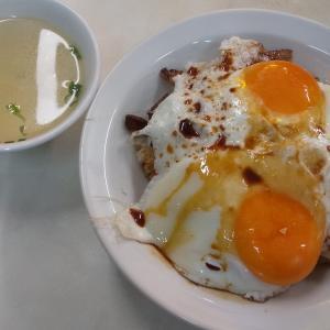 愛媛 今治の焼豚玉子飯(重松飯店 )