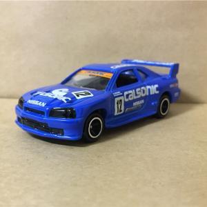 トミカ ヒストリーコレクション 星野一義 日産 スカイライン GT-R  R34   カルソニック