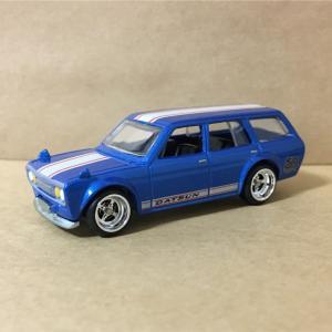 Hot Wheel    Datsun  Blue Bird  510  Wagon  50th