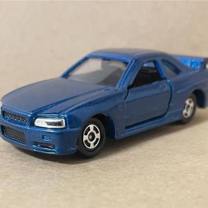 トミカ  NISSAN  SKYLINE  GT-R  R34