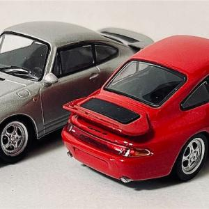 KYOSYO  1/64   Porsche  MINICAR  COLLECTION  6 PORSCHE  911  RS  【993】