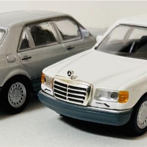 KYOSYO  1/64  Mercedes-Benz  Type  560 SEL Mercedes-Benz  Miniature  Car  Collection