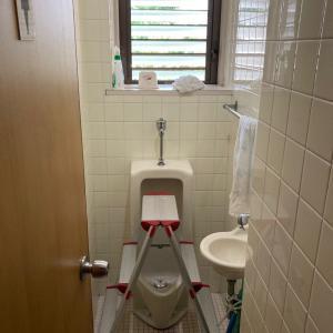 夏の大掃除・1Fトイレ&裏の草引き