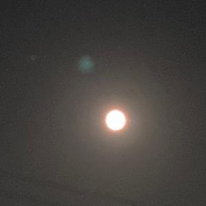 水瓶座満月、美しかったですね