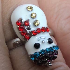 100円の指輪、か、か、かわいい
