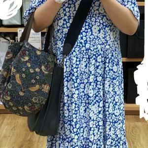 マメクロ、マネして買ったもの、ザラのワンピースを着る