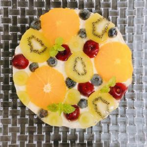 【初心者向け簡単レシピ】混ぜて冷やすだけ インスタ映えするフルーツレアチーズケーキ