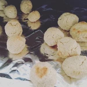 チーズボールクッキー