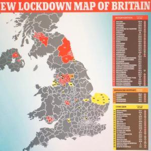 イギリスはコロナ禍「秋の陣」
