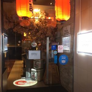 寿司レストランで誕生日ディナー