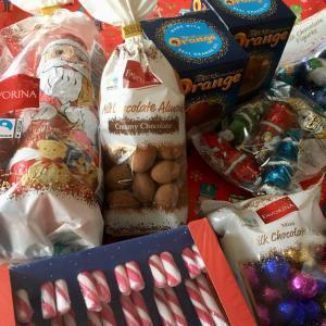 クリスマスのお菓子を大量買い出し