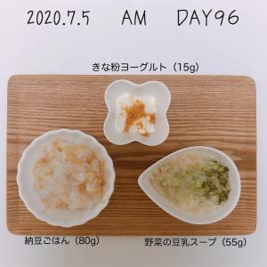 離乳食 15週目(生後36-37週目)