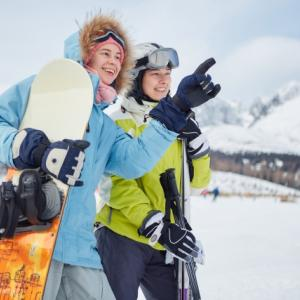 スキー初心者の子供への教え方を調べてみました!ボーゲンが出来るようになる?