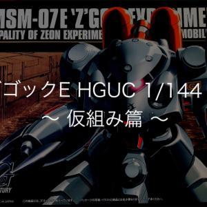 ズゴックE HGUC 1/144 ① 〜 仮組み篇 〜