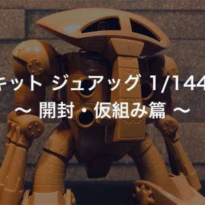 旧キット ジュアッグ 1/144 ~ 開封・仮組み篇 ~