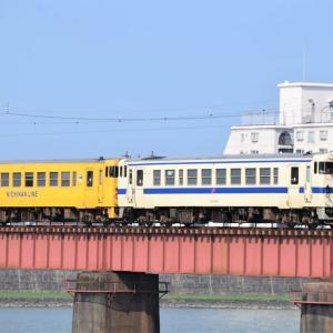 7月30日大淀川鉄橋にて