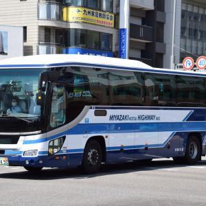 今日宮崎市で撮影したバス
