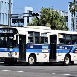 2018年10月に宮崎市内で撮影したバス その2