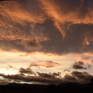 2018年9月30日夕方の宮崎の空