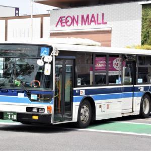 今日撮影した宮崎交通のバス