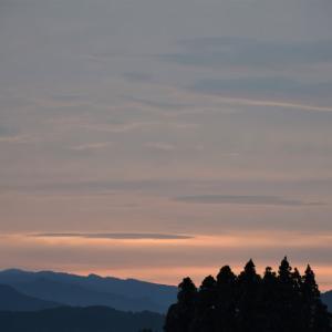 9月20日宮崎の夕焼け
