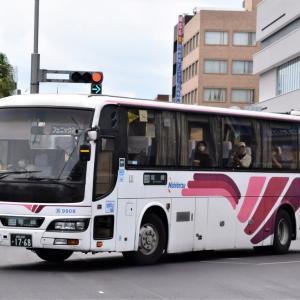 昨日(9月26日)宮崎市内で撮影したバス