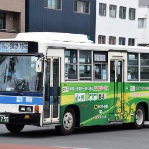 今日もがんばる宮崎交通のバス(2021年6月15日)