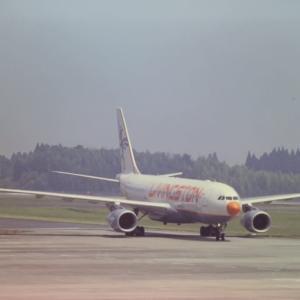 2004年7月24日 鹿児島空港 LIVINGSTON Energy Flight A330