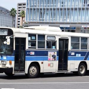 今日もがんばる宮崎交通のバス(2021年9月10日)