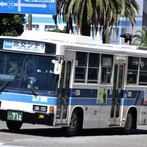今日もがんばる宮崎交通のバス(2021年9月18日)