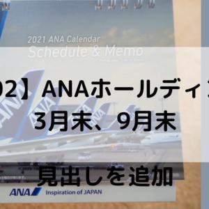 旅行好きにおすすめ【9202】ANAホールディングスの株主優待