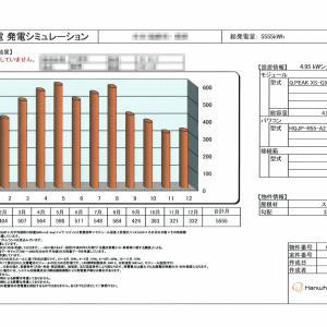 太陽光発電 QCells 4.95KW 導入。7年ほどで償却可能!?