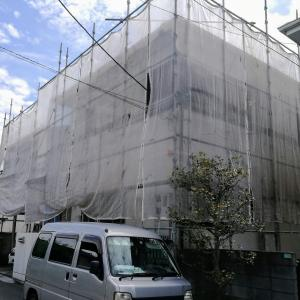 屋根と外壁塗装。遮熱塗料を使って