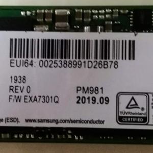 M2 SSD 1TByte Samsung MZVLB1T0HALR