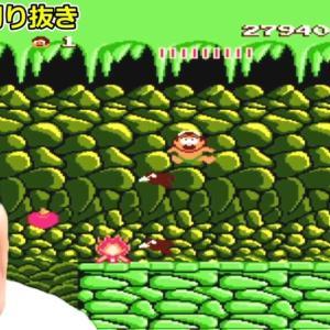 高橋名人の冒険島 #3 鬼畜ゲーに挑戦!【テマキのレトロゲーム実況】