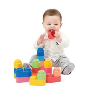 子供の知育に安心を!!【baby Clemmy】の『やわらかブロック』